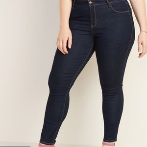 Old Navy Stretch Mid-Rise Rockstar jeans